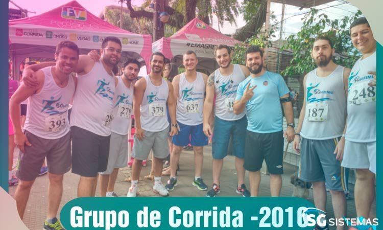 Grupo de corrida SG Sistemas treina para Prova Rustica Tiradentes