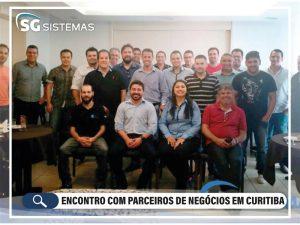 Encontro com parceiros de nogócios em Curitiba