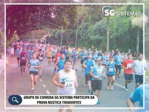 Grupo de corrida SG Sistemas participa da Prova Rustica Tiradentes