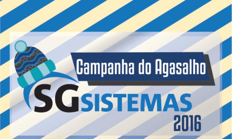 Campanha do Agasalho 2016 SG Sistemas arrecada mais de 1 tonelada de roupas