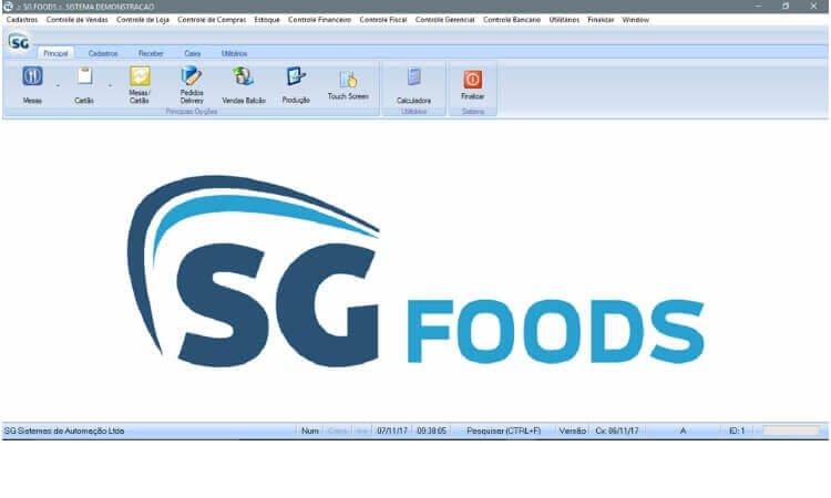 SG Foods, o sistema ideal para gestão do seu food truck.