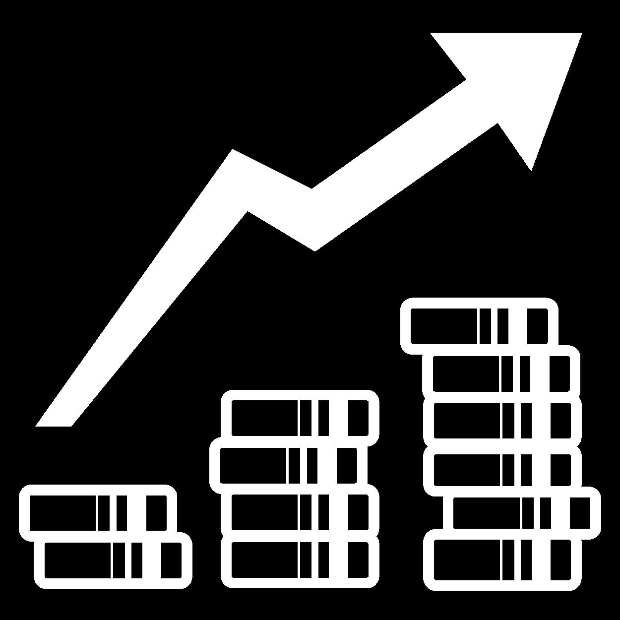 icone aumento de receita
