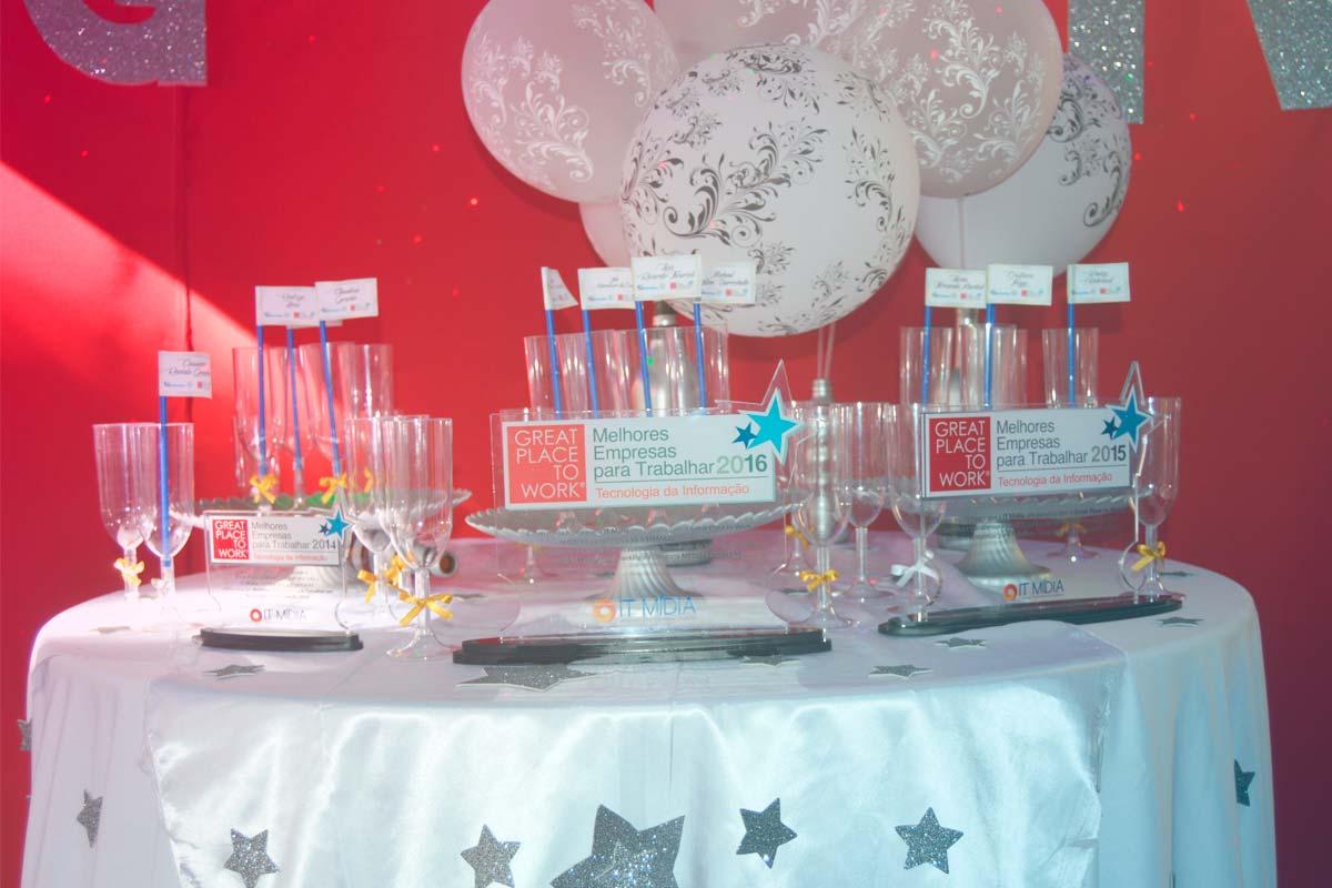 mesa e decoração