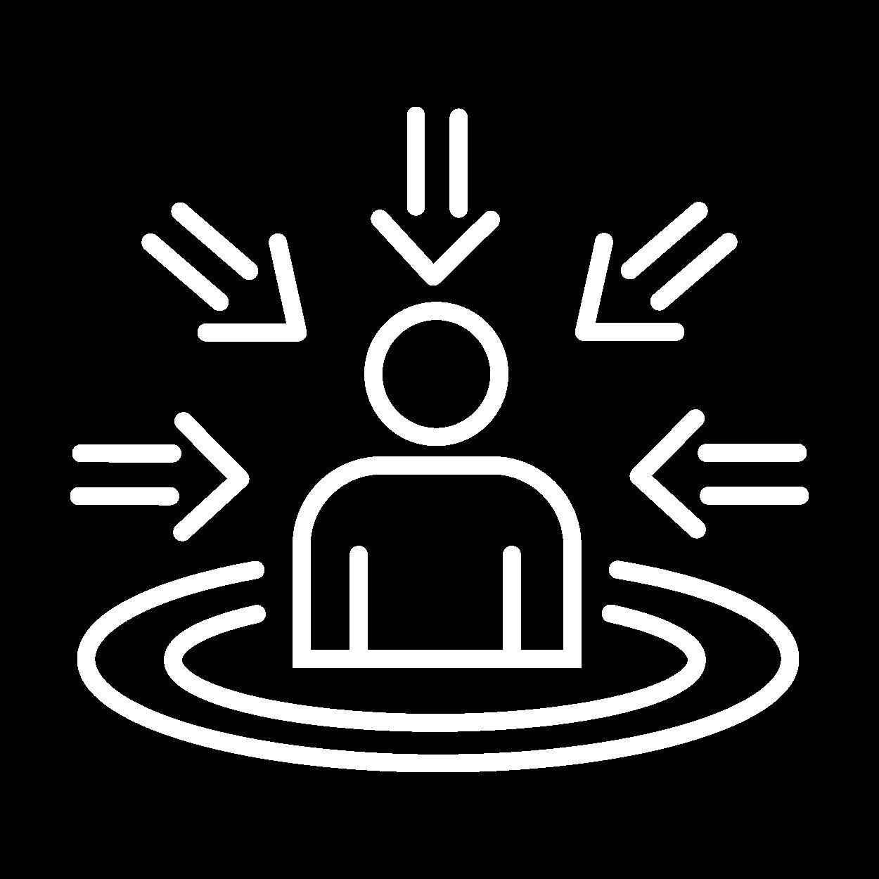 icone centralização