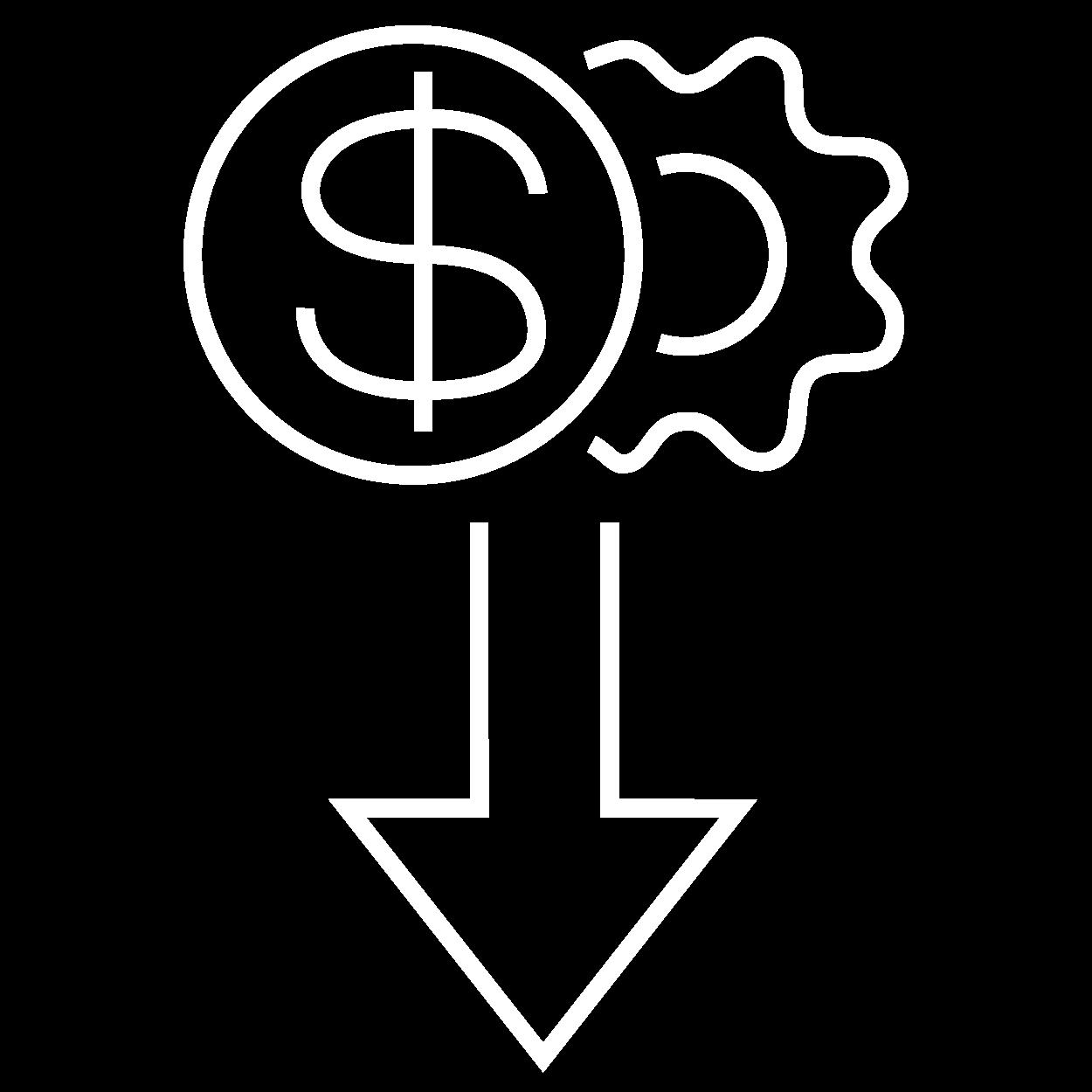 icone custo operacional