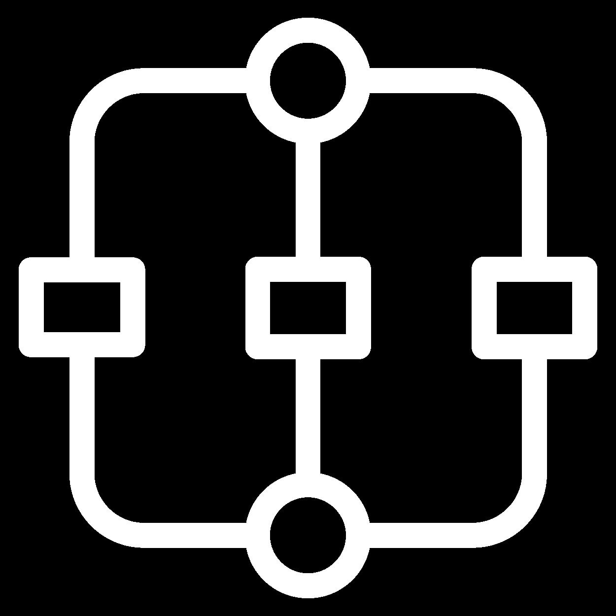 icone fluxo de trabalho