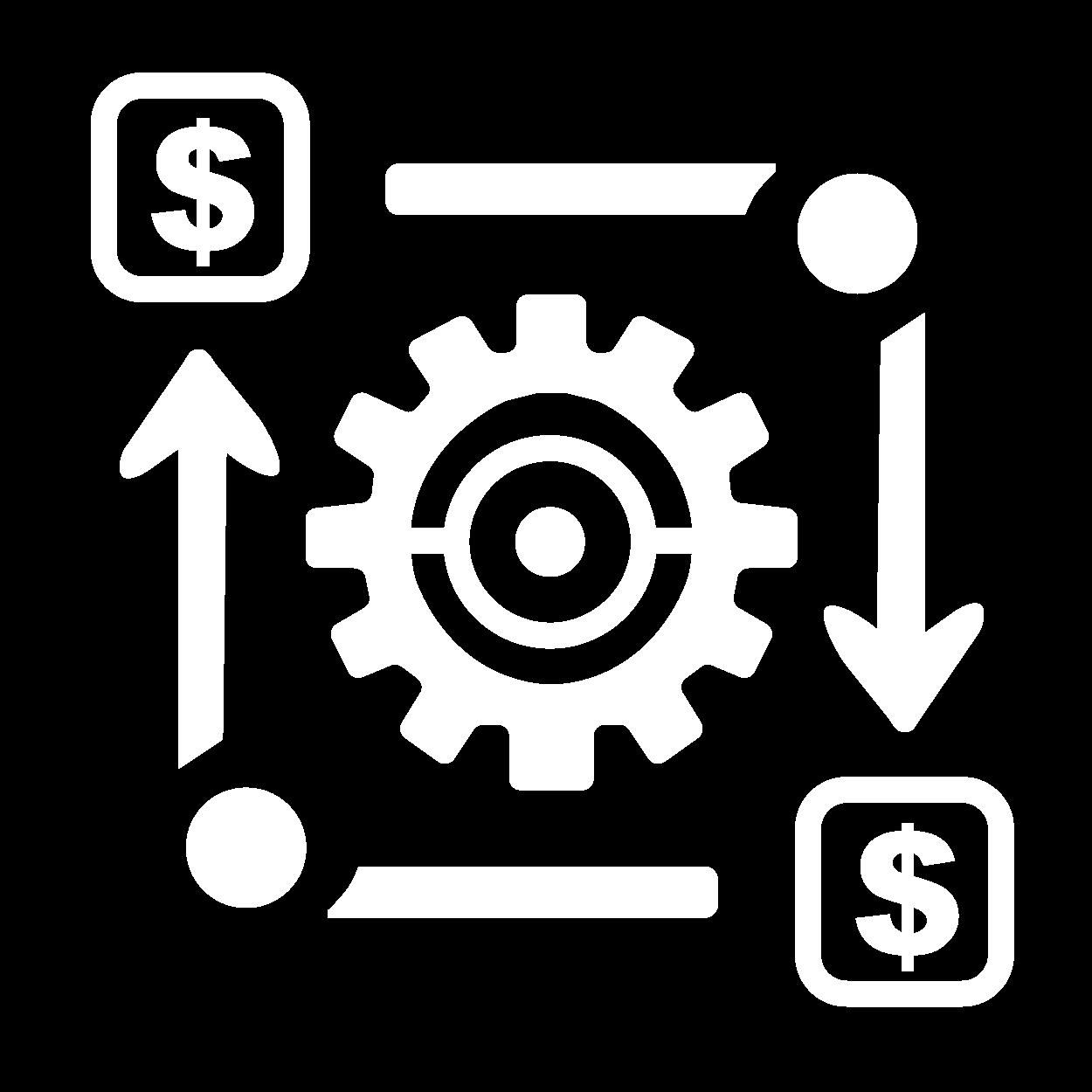 icone otimização de custos