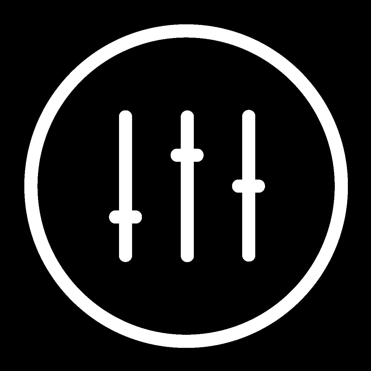 icone parametrização