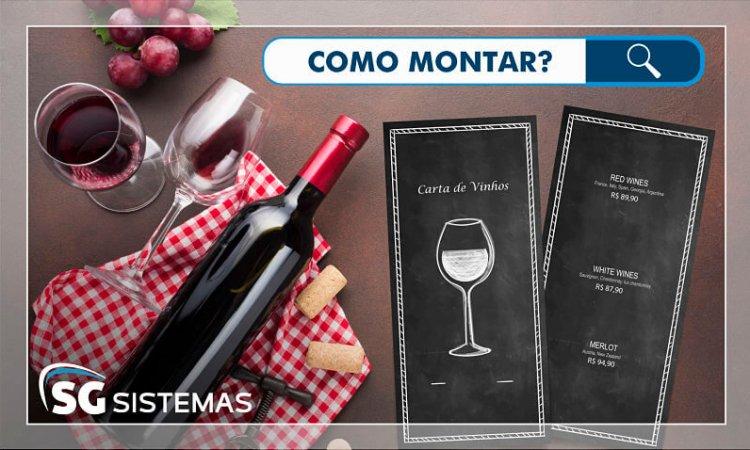 Como montar uma carta de vinhos para seu restaurante?