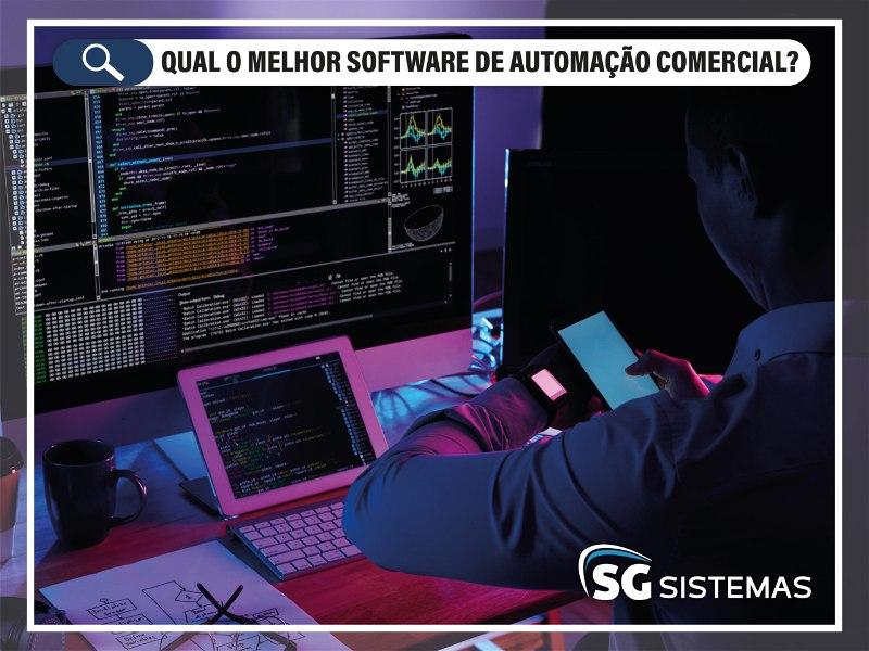 Qual o melhor software de automação comercial?