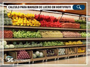 Aprenda como calcular margem de lucro em hortifruti