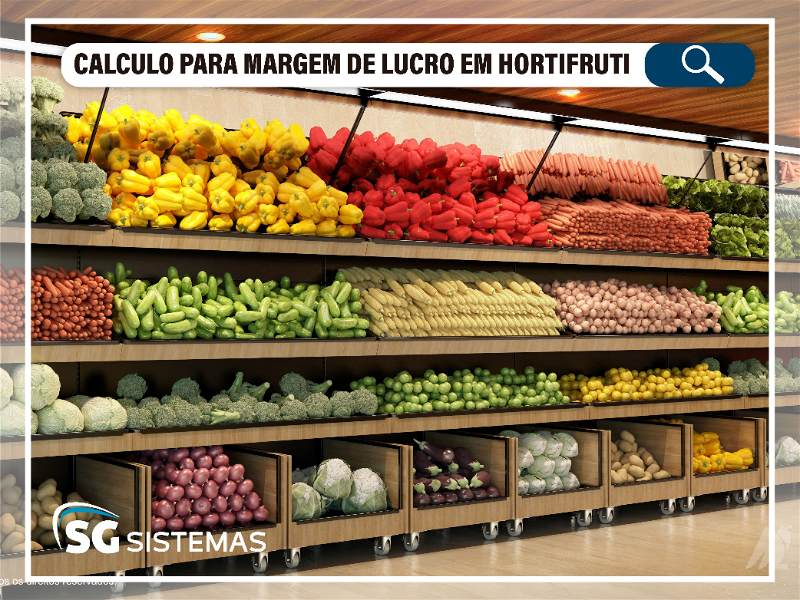 como calcular margem de lucro em hortifruti
