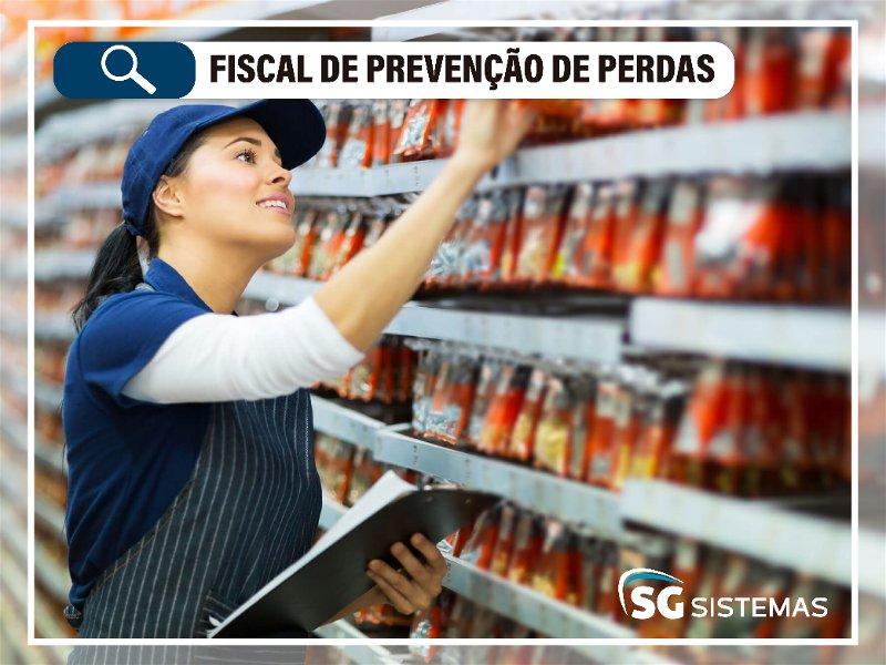fiscal de prevenção de perdas no mercado