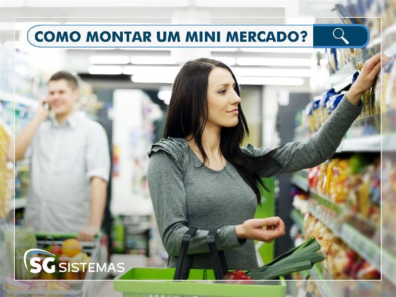 Como montar um mini mercado com pouco dinheiro