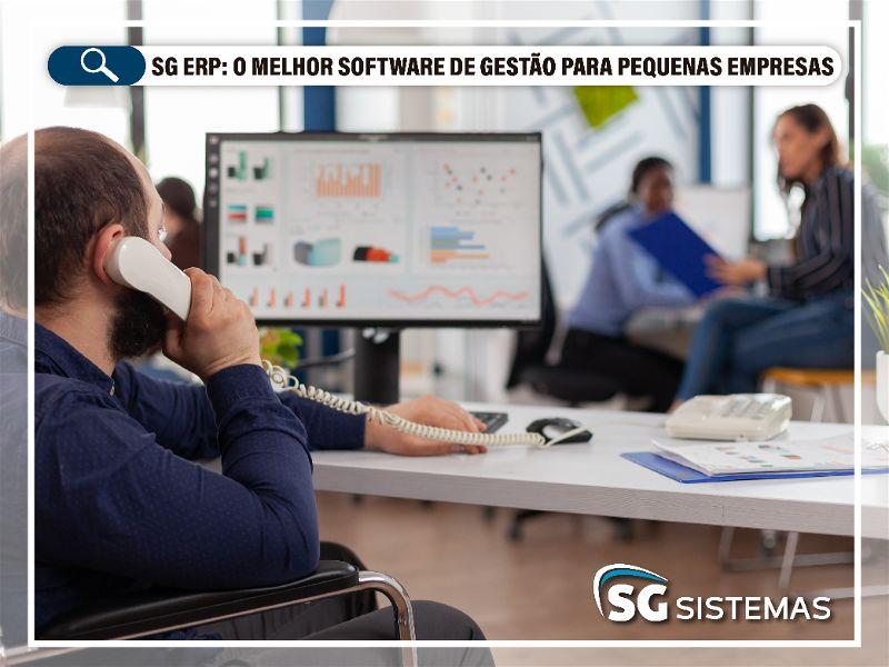 Conheça o SG ERP, o melhor software de gestão para pequenas empresas